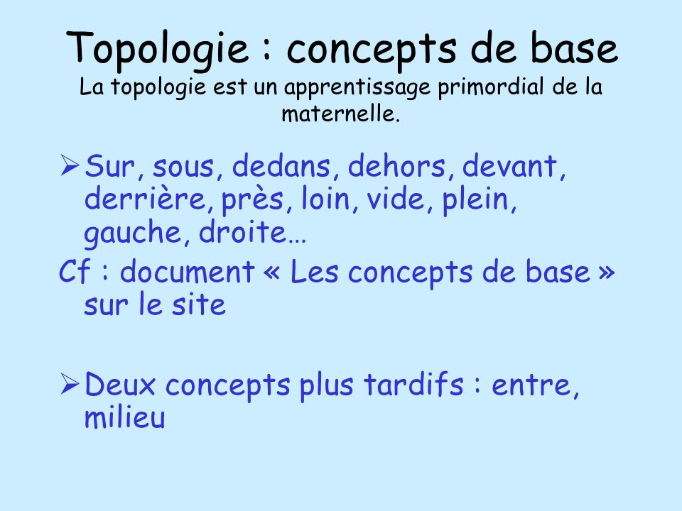 Formes et grandeurs mars ppt video online t l charger for Exterieur topologie