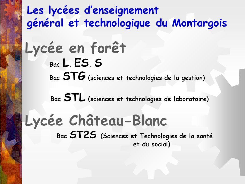 Les lycées d'enseignement général et technologique du Montargois