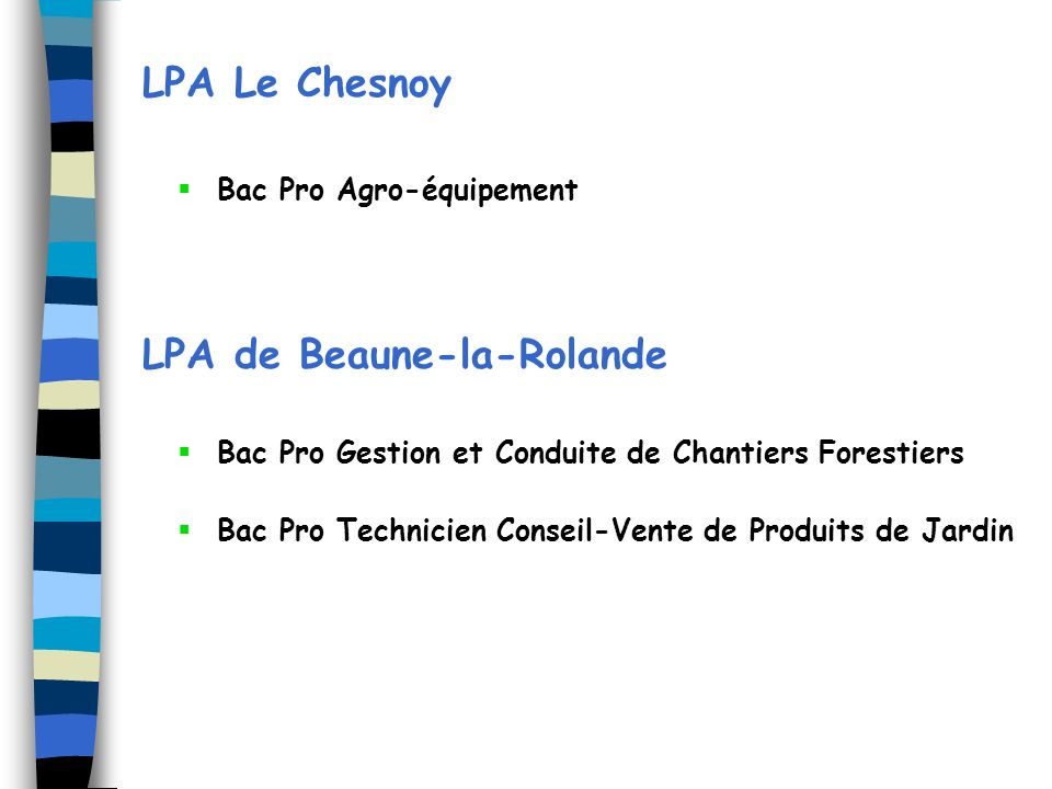 LPA de Beaune-la-Rolande