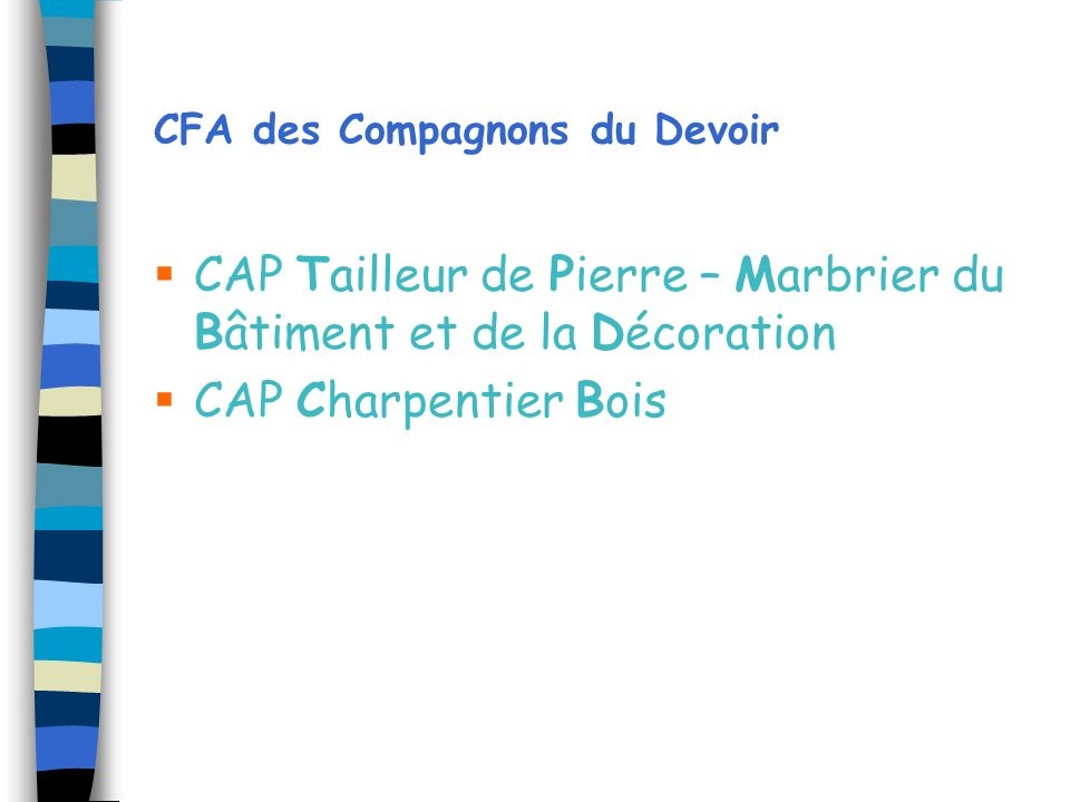 CFA des Compagnons du Devoir