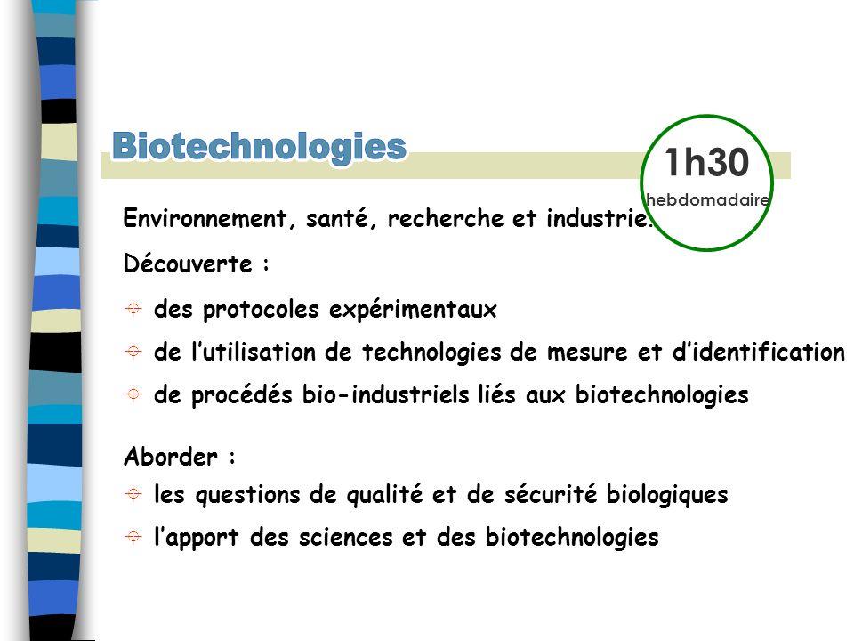 Biotechnologies Biotechnologies