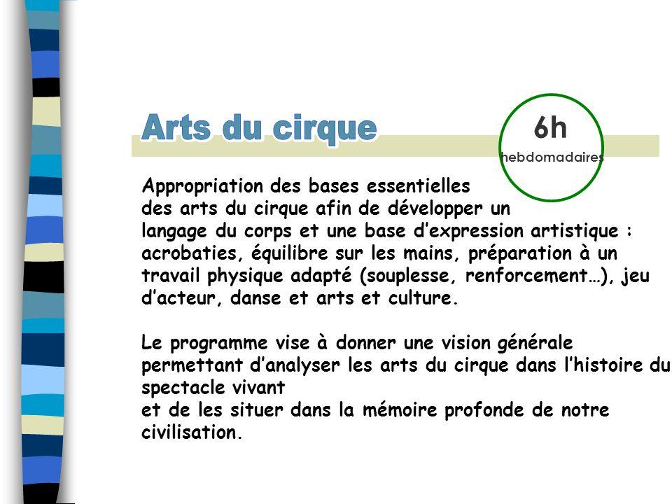 Arts du cirque Arts du cirque