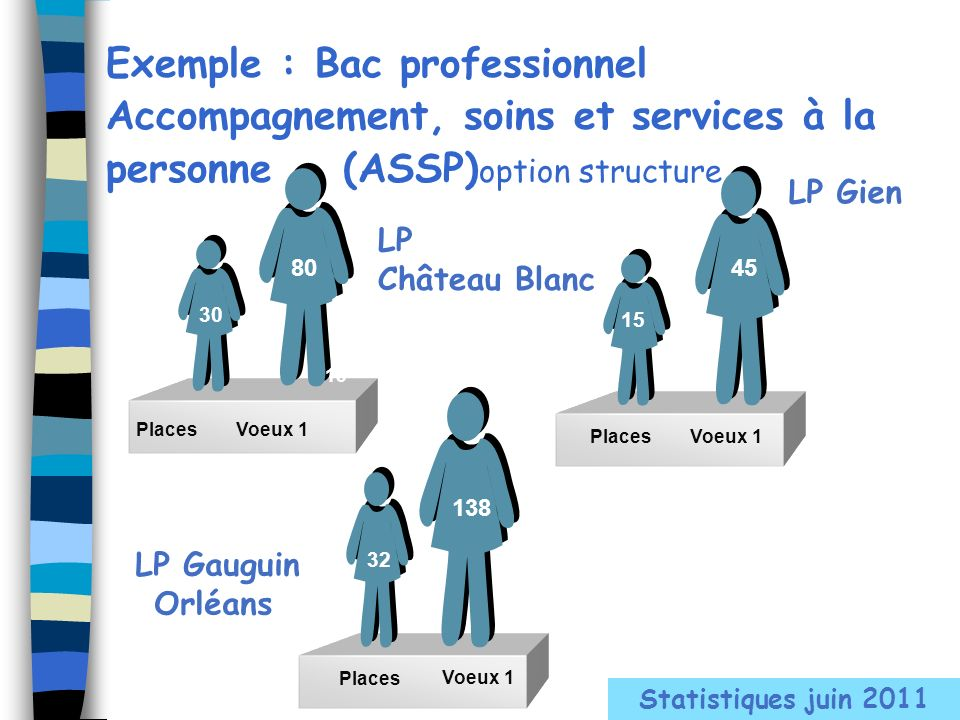 Exemple : Bac professionnel