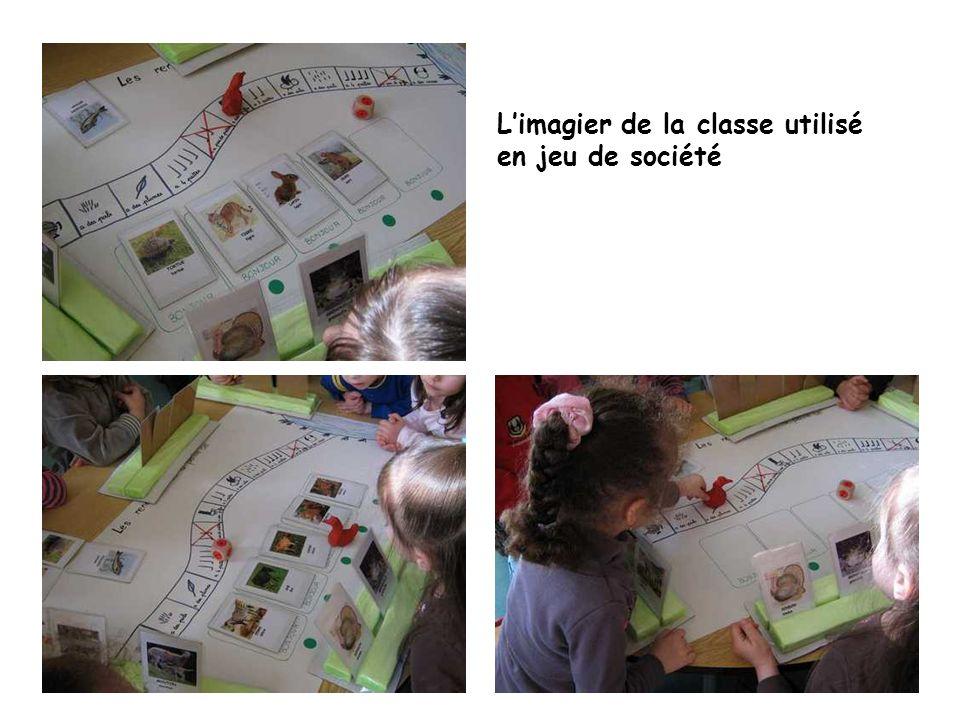 L'imagier de la classe utilisé en jeu de société