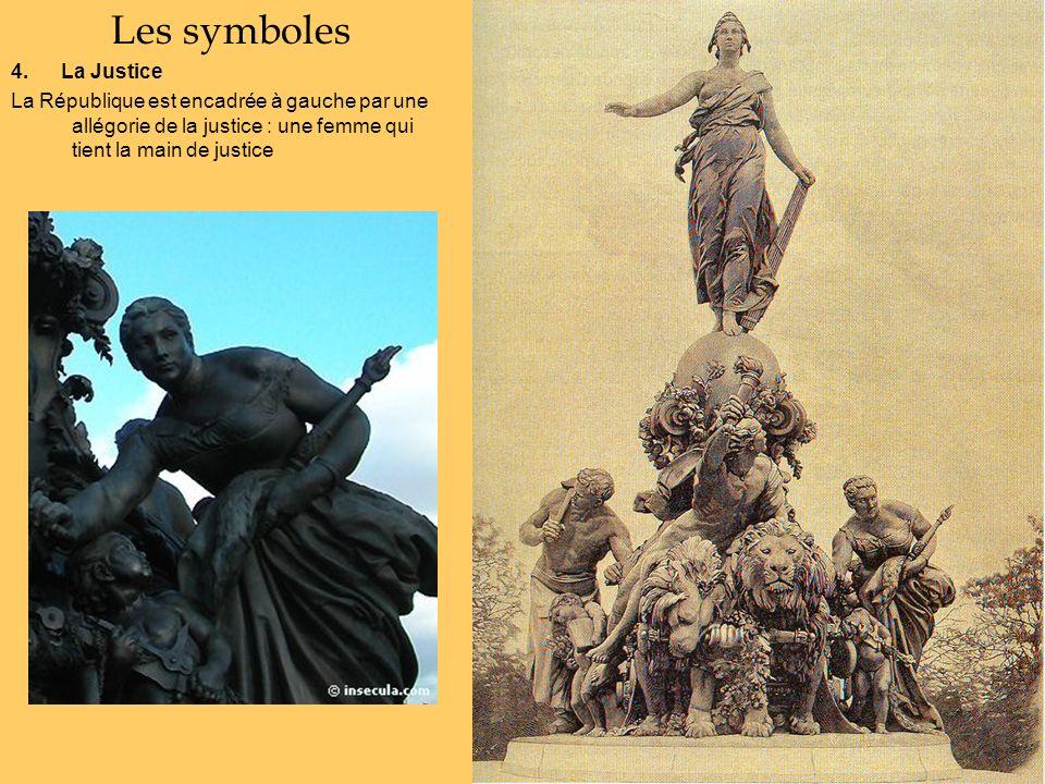 Les symboles 4. La Justice