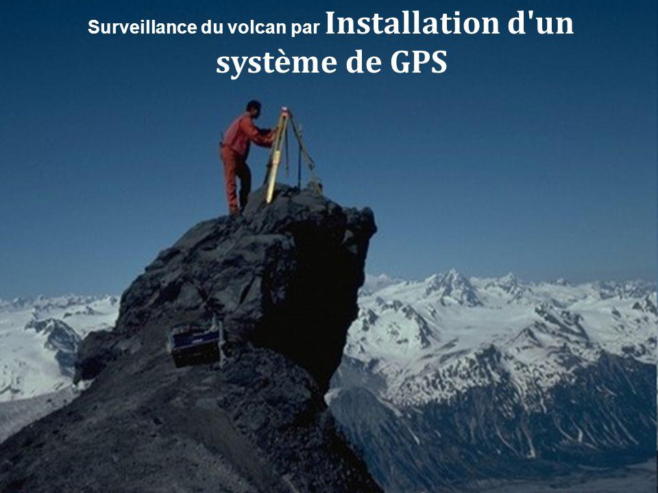 Surveillance du volcan par Installation d un système de GPS