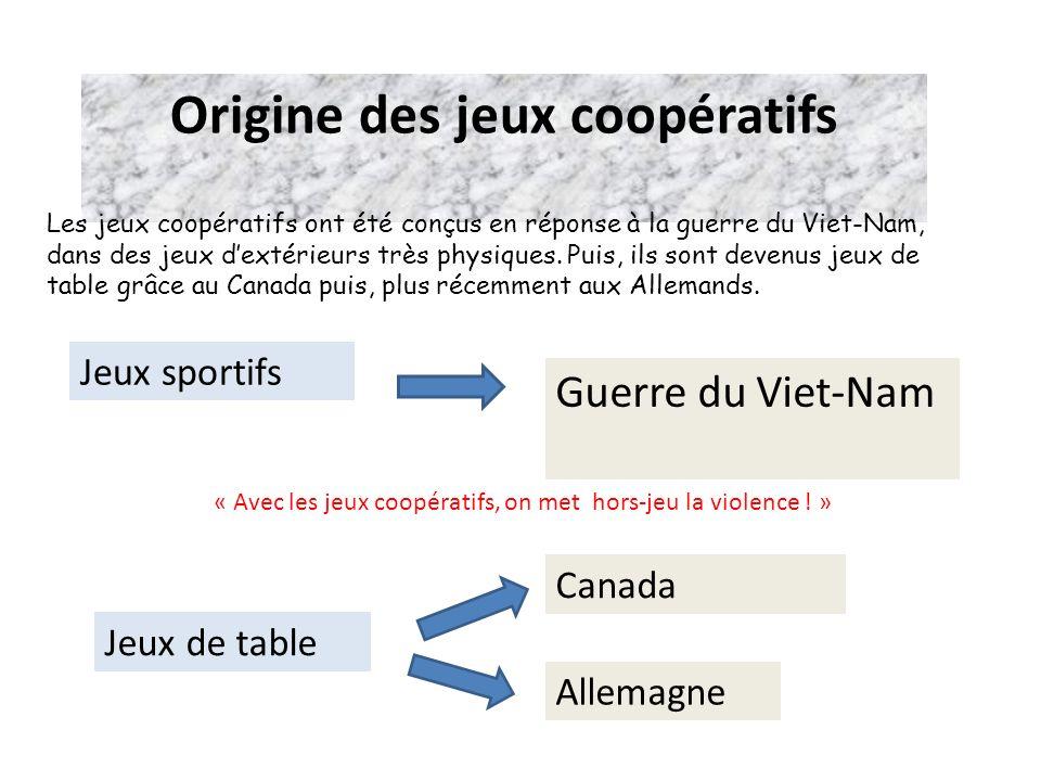 Origine des jeux coopératifs