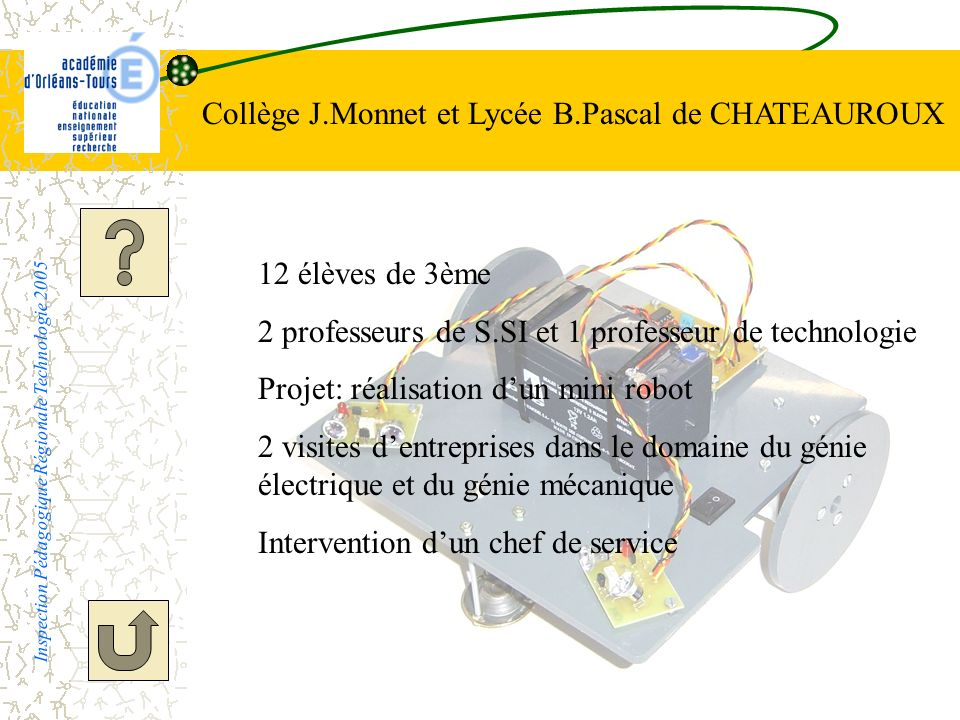 Collège J.Monnet et Lycée B.Pascal de CHATEAUROUX