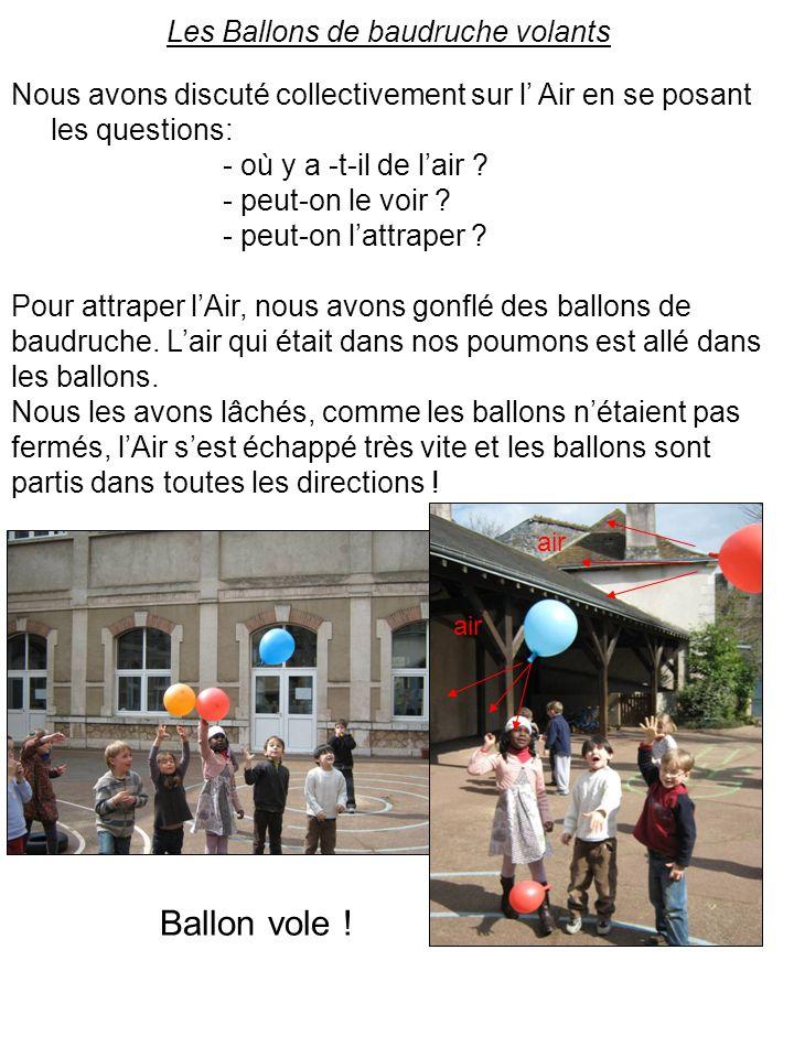 Les Ballons de baudruche volants