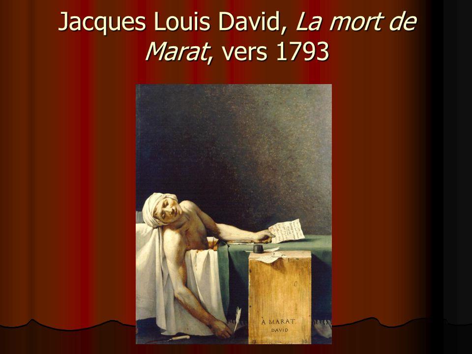 Jacques Louis David, La mort de Marat, vers 1793