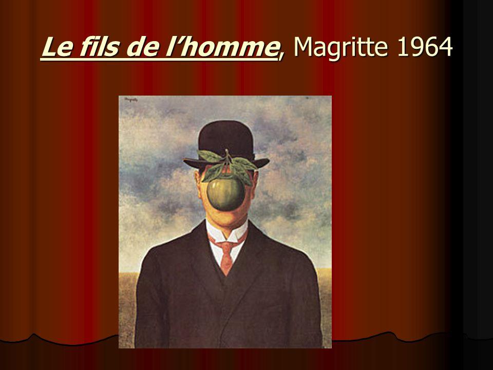 Le fils de l'homme, Magritte 1964