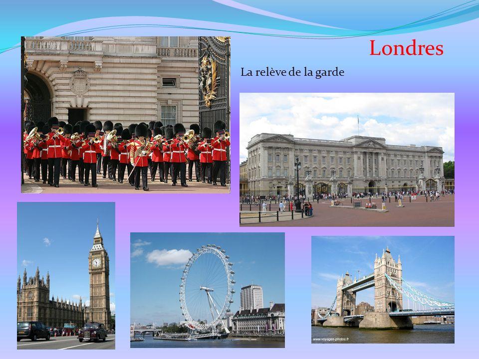 Londres La relève de la garde