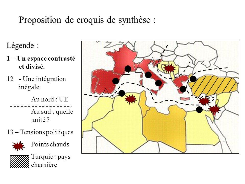 Proposition de croquis de synthèse :