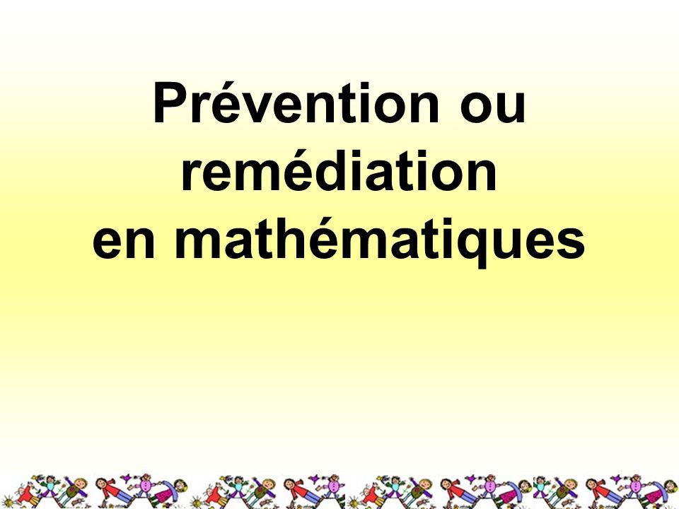 Prévention ou remédiation