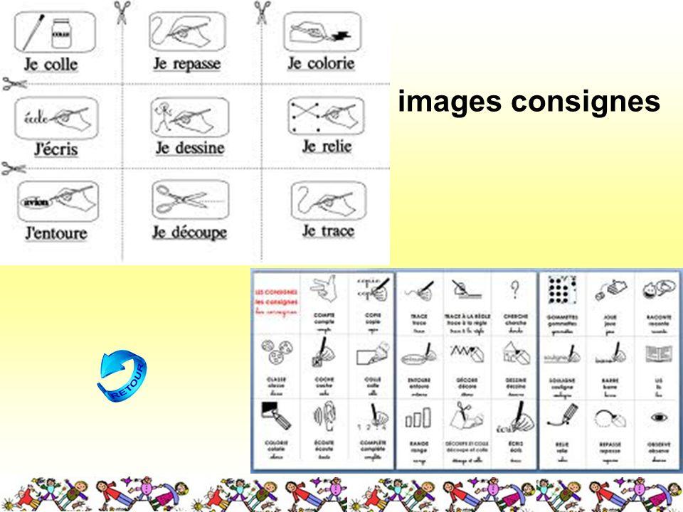 images consignes