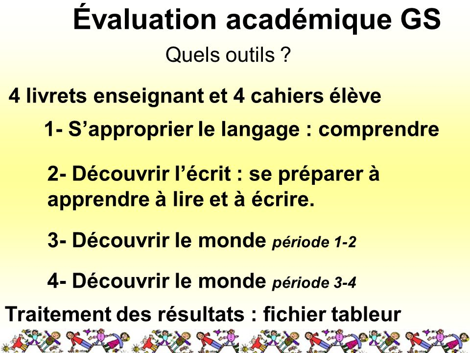 Évaluation académique GS