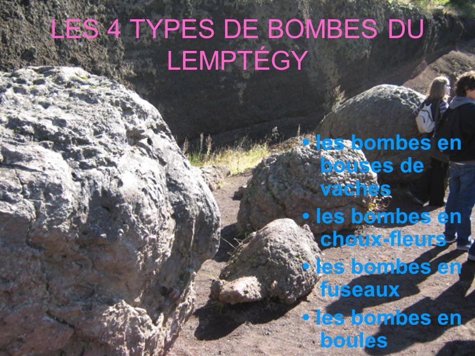 LES 4 TYPES DE BOMBES DU LEMPTÉGY