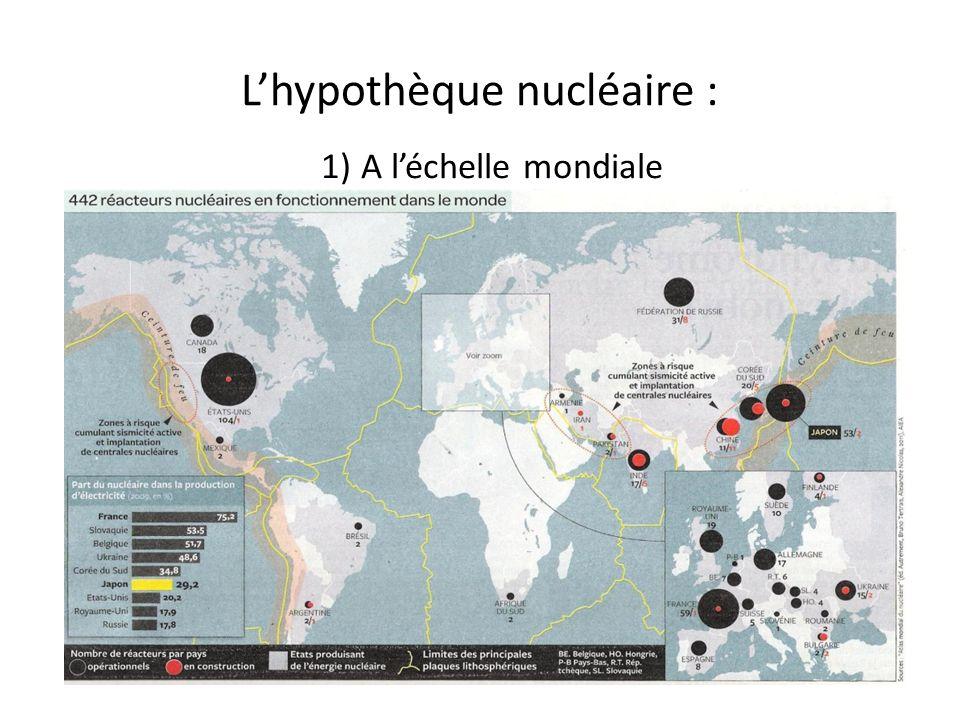 L'hypothèque nucléaire :