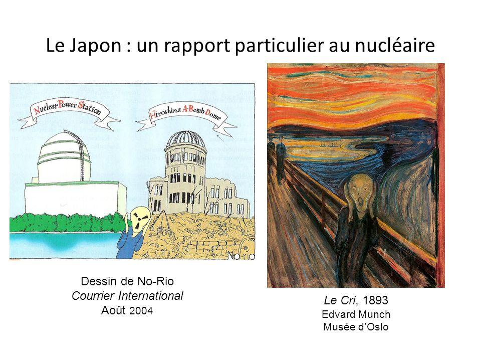 Le Japon : un rapport particulier au nucléaire