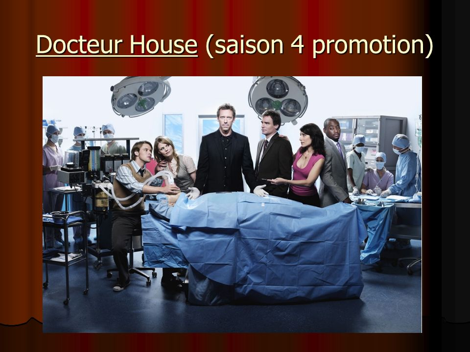Docteur House (saison 4 promotion)