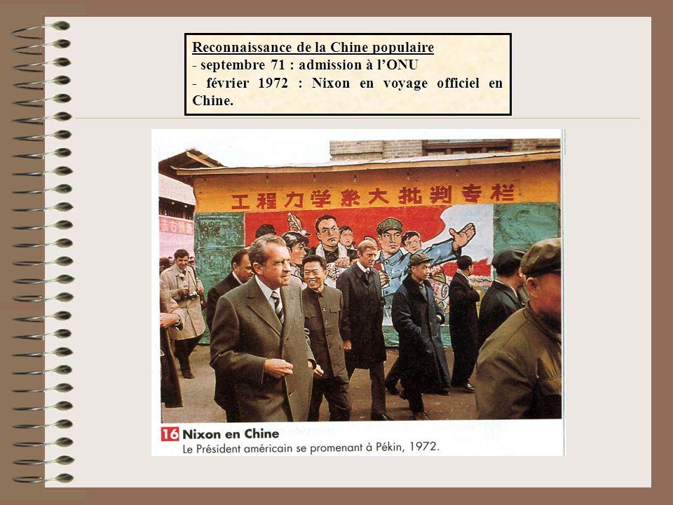 Reconnaissance de la Chine populaire