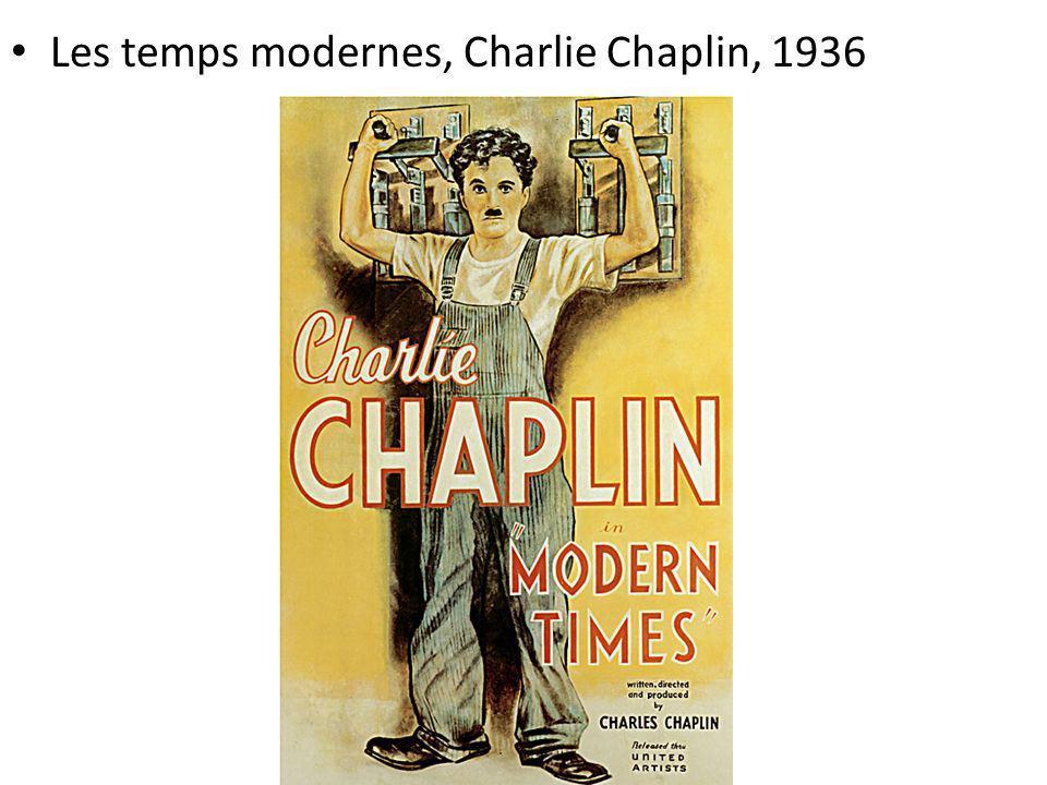 Les temps modernes, Charlie Chaplin, 1936
