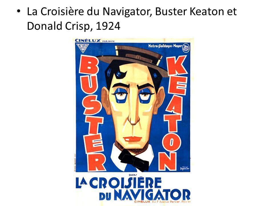 La Croisière du Navigator, Buster Keaton et Donald Crisp, 1924