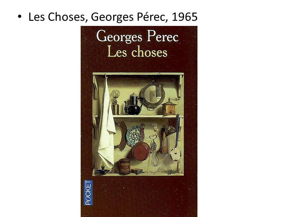 Les Choses, Georges Pérec, 1965