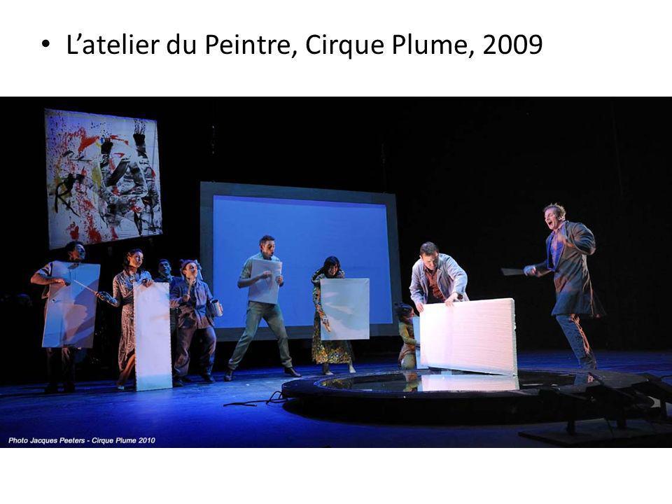 L'atelier du Peintre, Cirque Plume, 2009