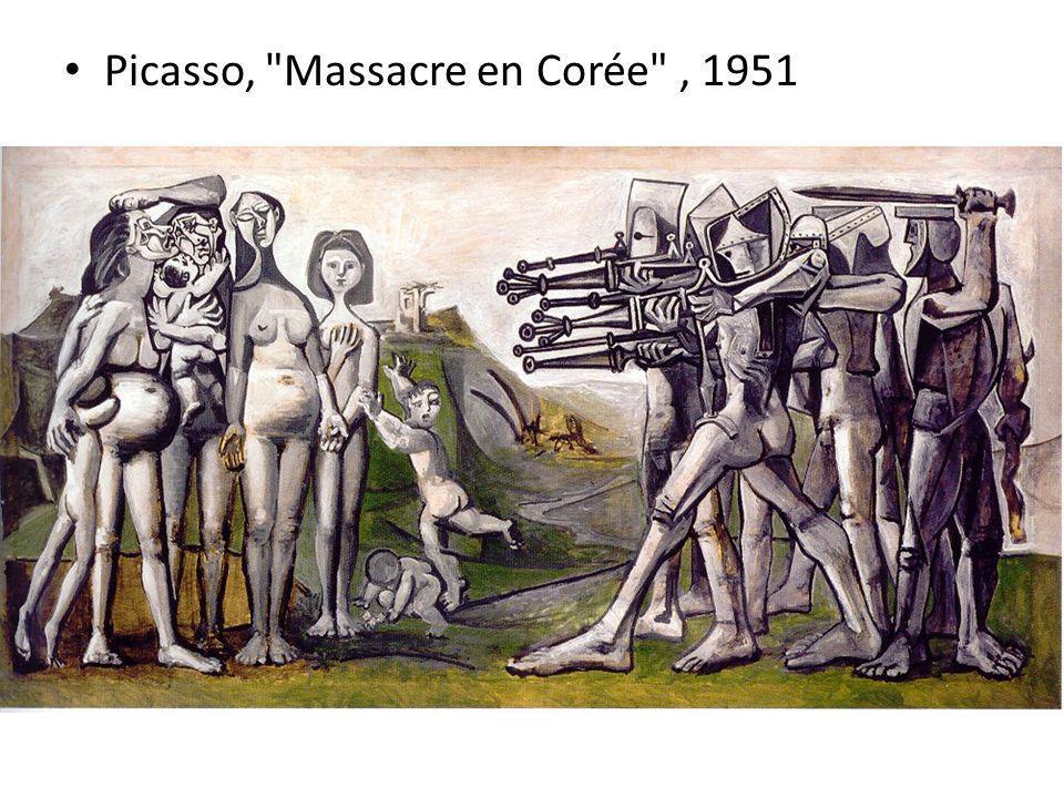 Picasso, Massacre en Corée , 1951