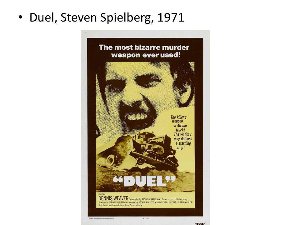 Duel, Steven Spielberg, 1971