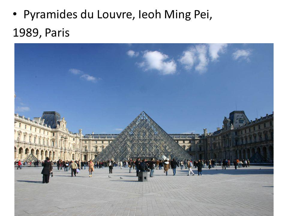 Pyramides du Louvre, Ieoh Ming Pei,