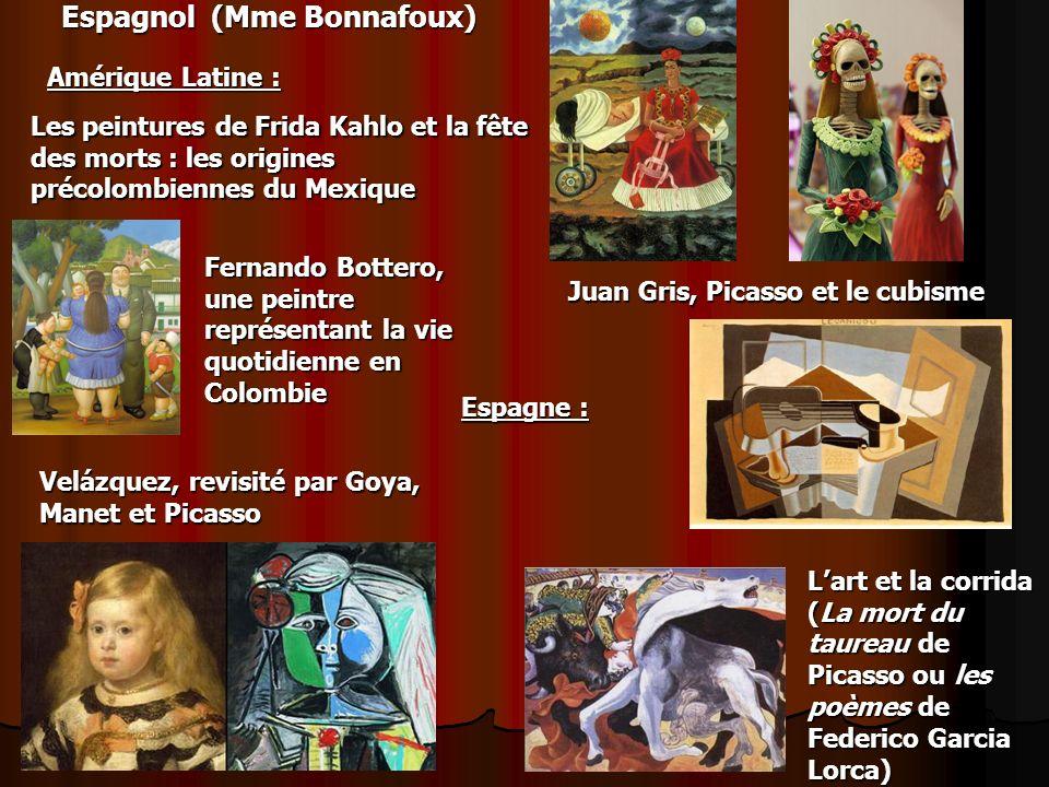 Espagnol (Mme Bonnafoux)