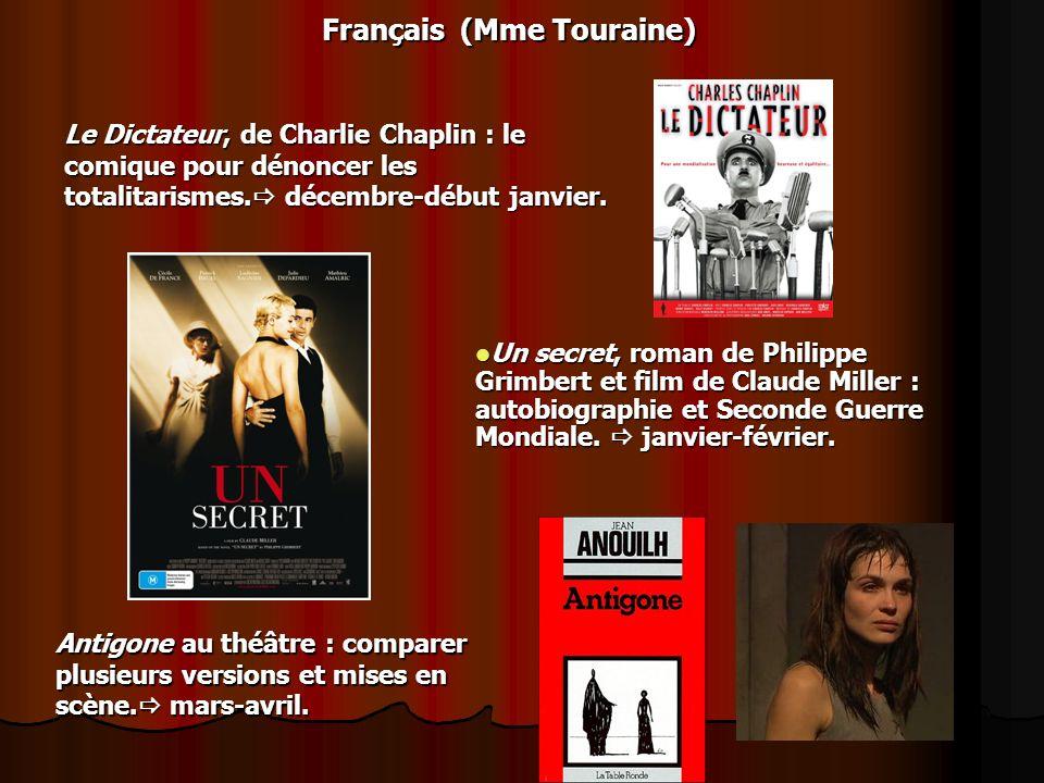 Français (Mme Touraine)
