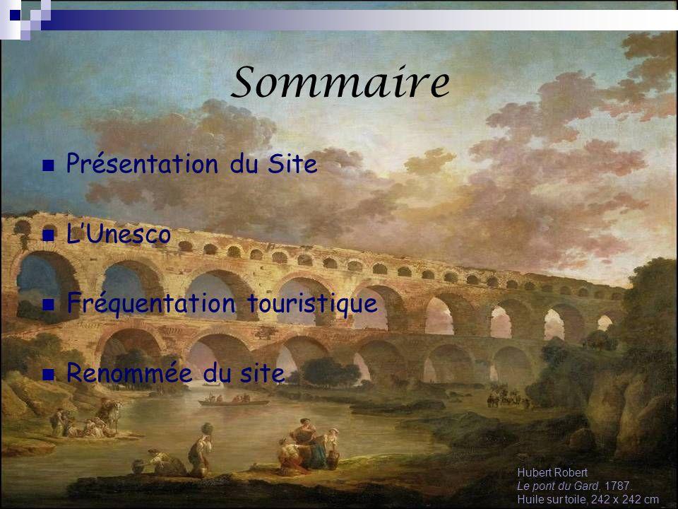 Sommaire Présentation du Site L'Unesco Fréquentation touristique