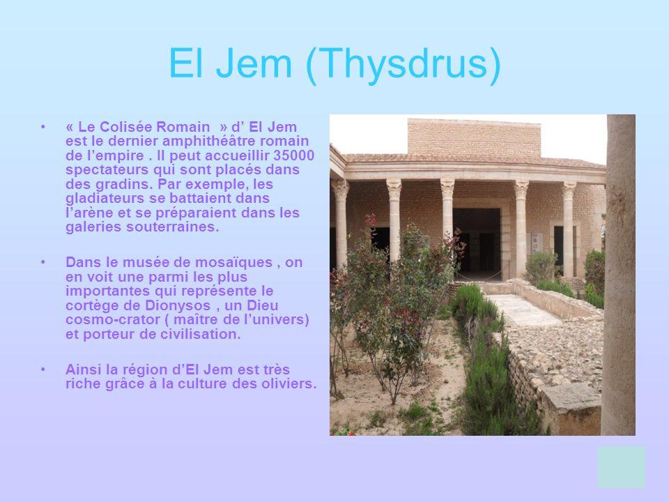 El Jem (Thysdrus)