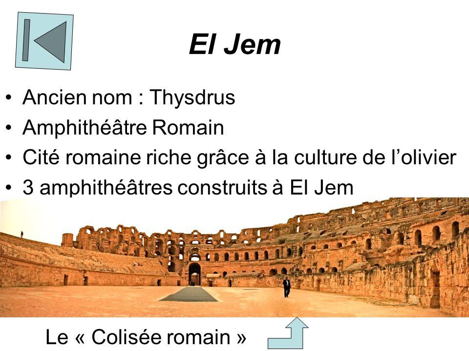 El Jem Ancien nom : Thysdrus Amphithéâtre Romain