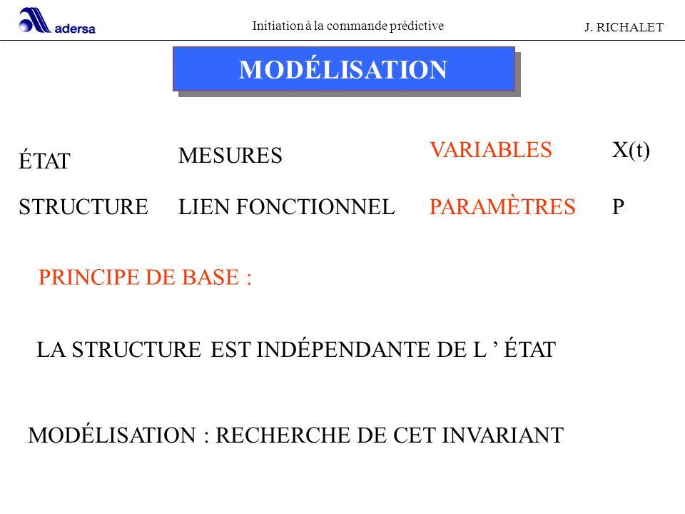 MODÉLISATION ÉTAT STRUCTURE MESURES LIEN FONCTIONNEL VARIABLES