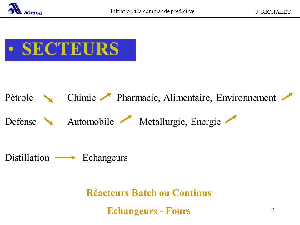 Réacteurs Batch ou Continus