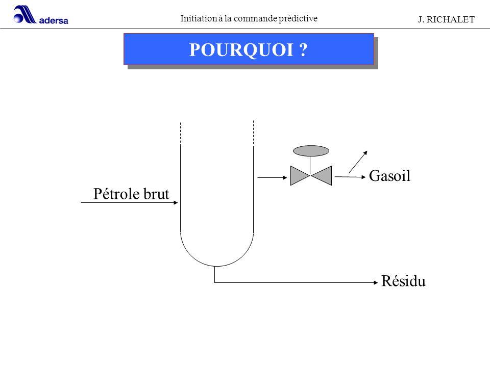 POURQUOI Gasoil Pétrole brut Résidu