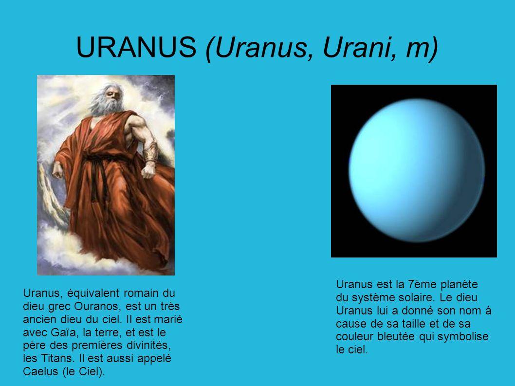 uranus origine du nom blog sur les voitures