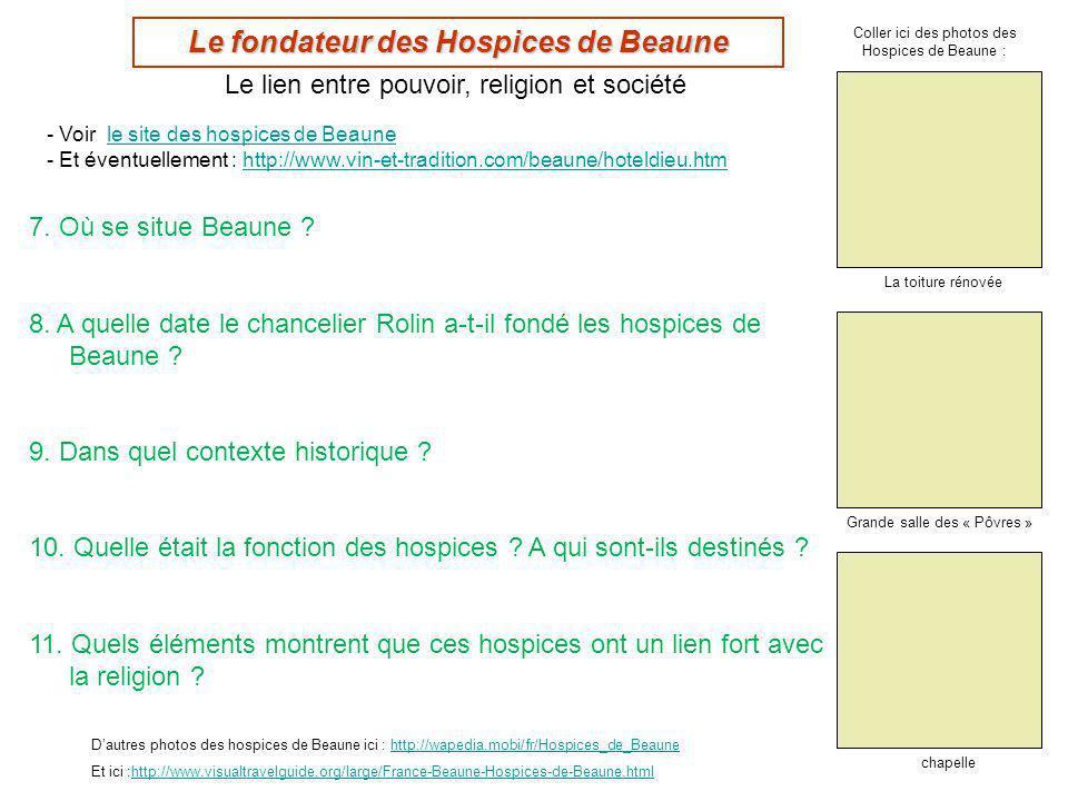 Le fondateur des Hospices de Beaune
