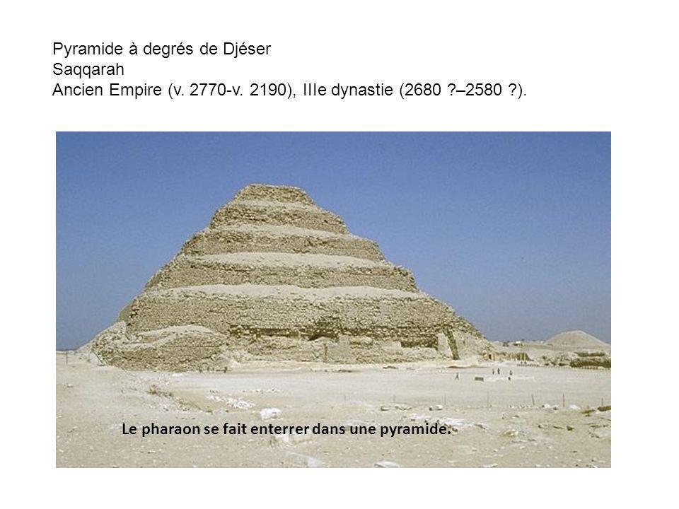 Pyramide à degrés de Djéser