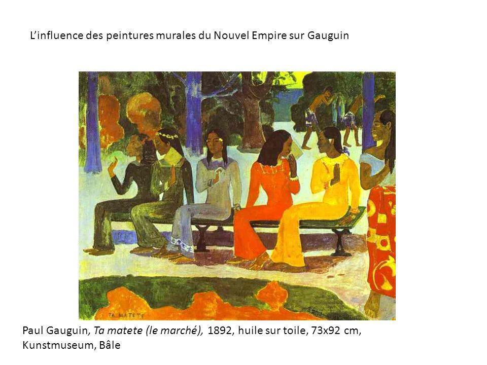L'influence des peintures murales du Nouvel Empire sur Gauguin