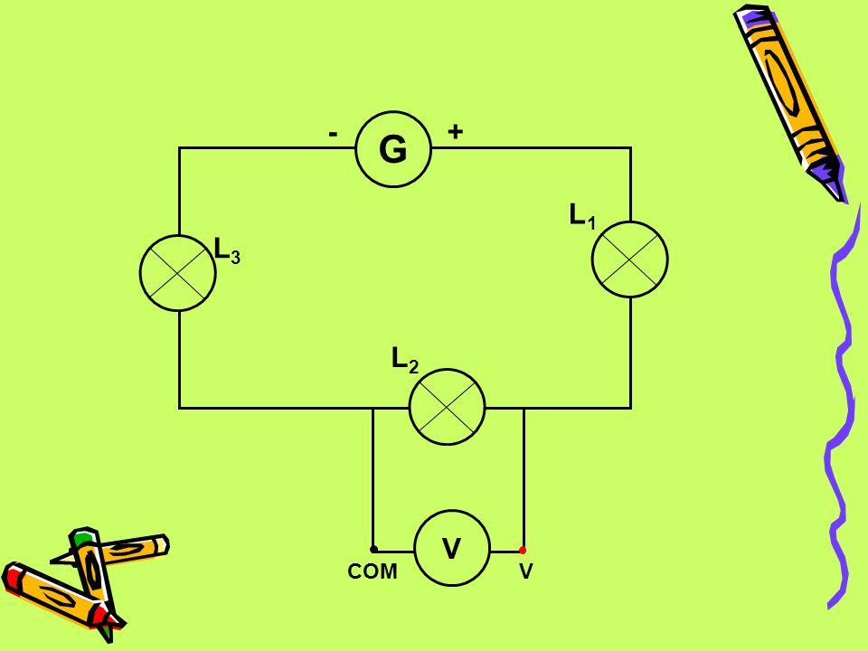 V COM G L2 L1 L3 - +