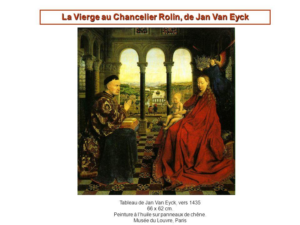 La Vierge au Chancelier Rolin, de Jan Van Eyck