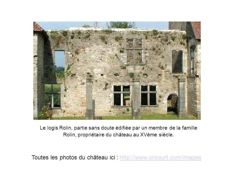 Toutes les photos du château ici : http://www.oricourt.com/images