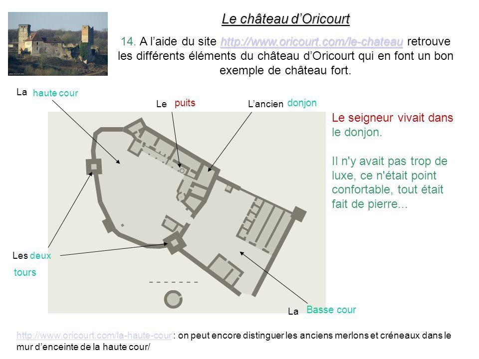 Le château d'Oricourt