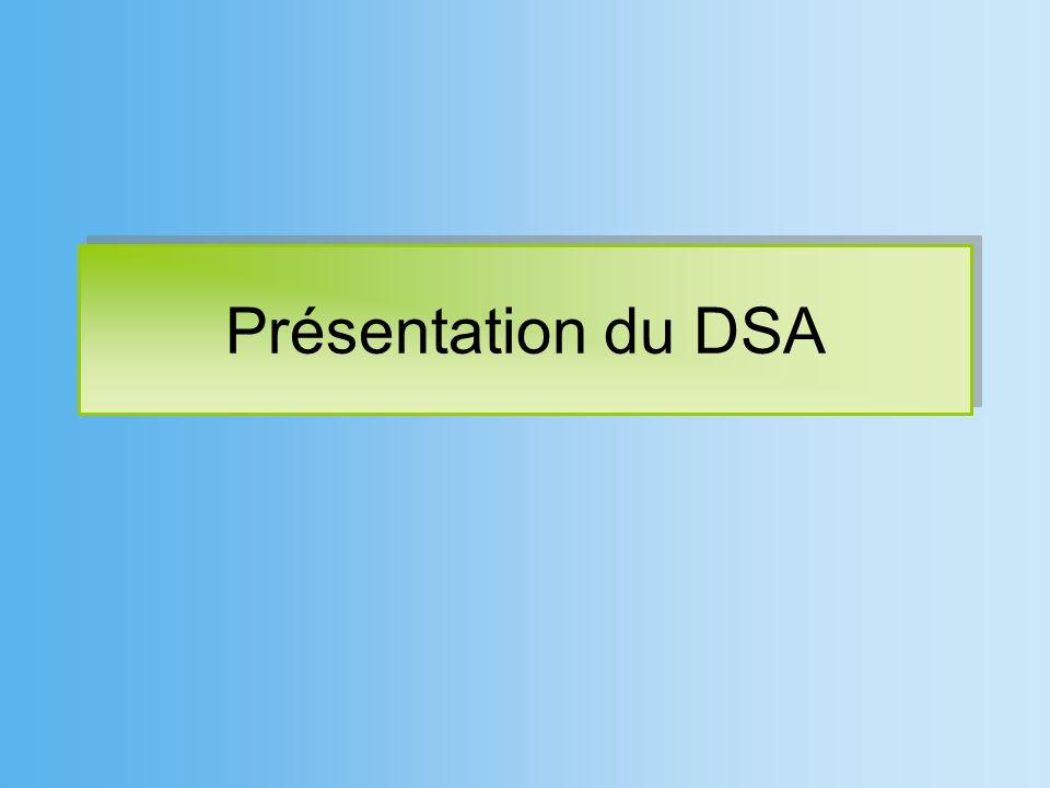 Présentation du DSA