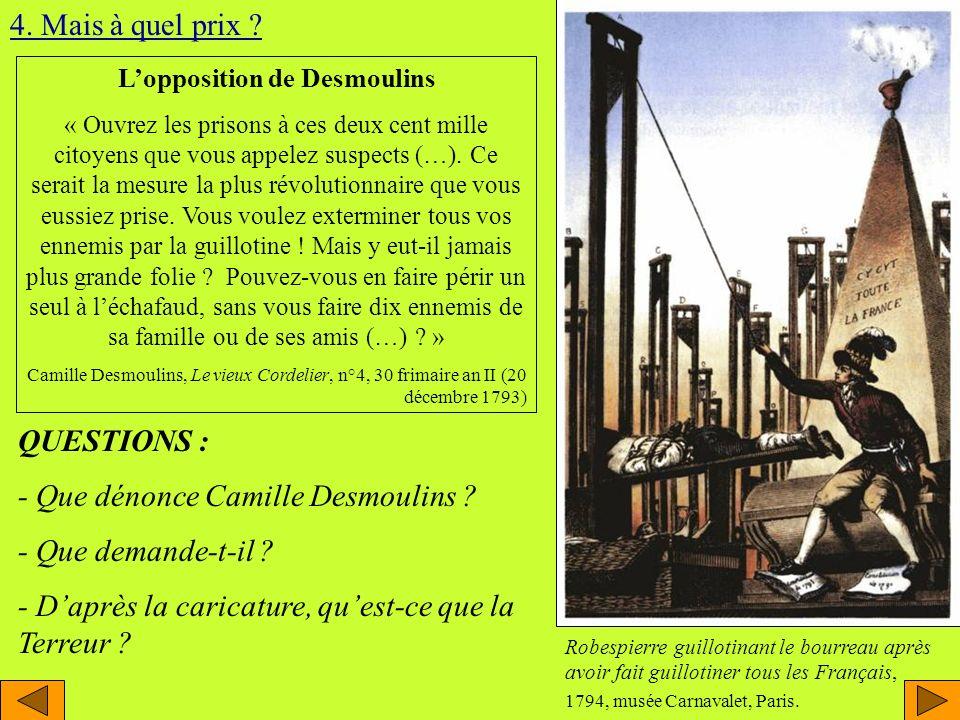 L'opposition de Desmoulins